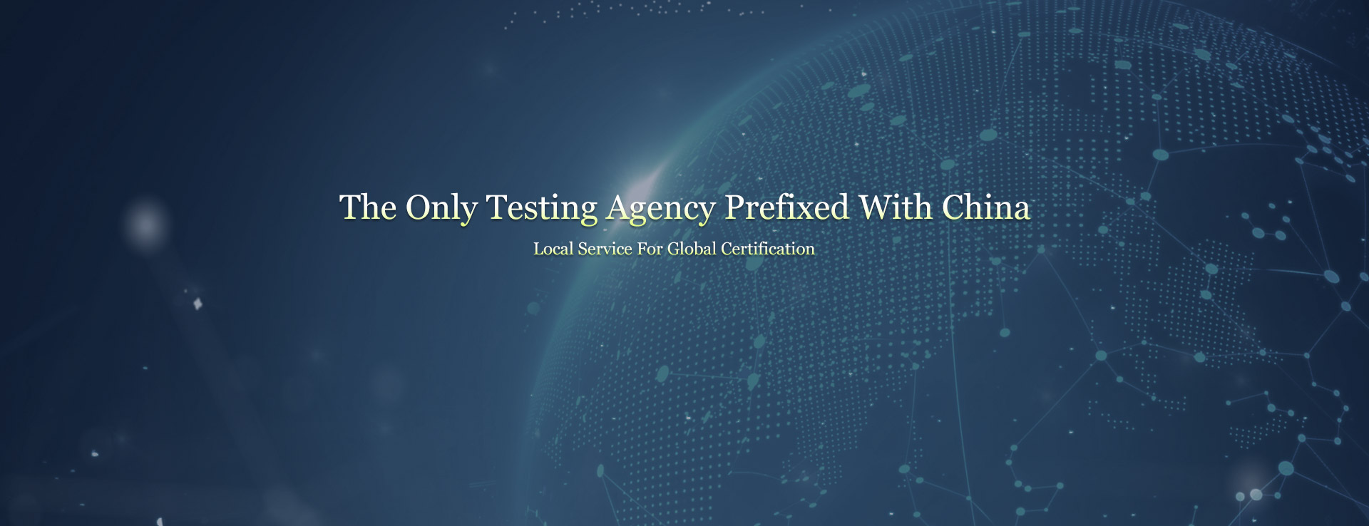 the only testing agency prefix