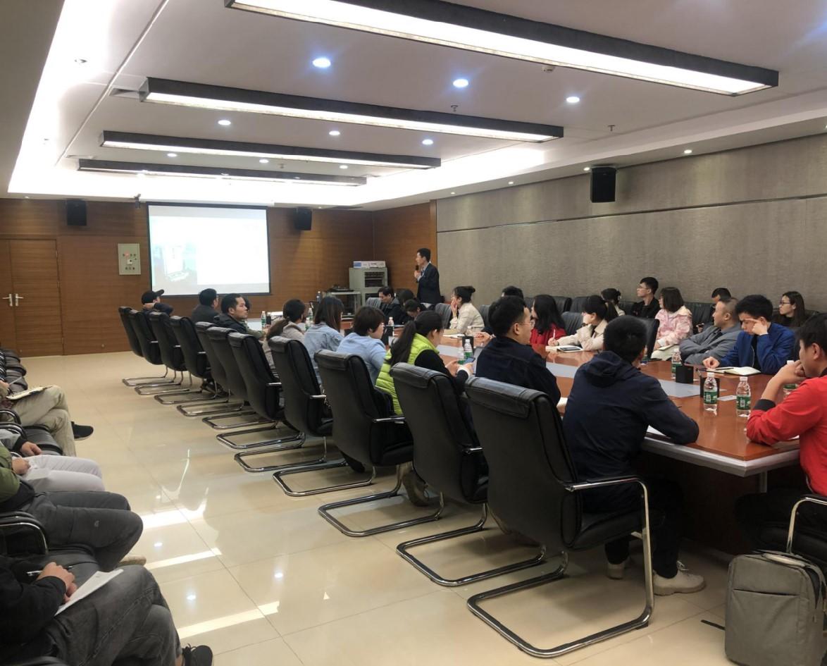 中检华通威应邀成功举办了湖南省医疗器械产业园专场培训会